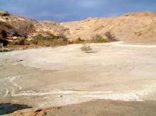 Der große Pool auf Wüstenquell ohne Wasser, 17.11.03