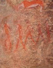 Felszeichnungen auf Wüstenquell, 17.11.03