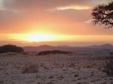 Sonnenuntergang, 17.11.03