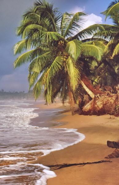 Die Küste bei Bushua, 25.7.1974