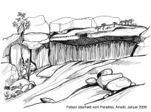 Höhlen im Fels, 28.1.06
