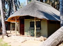 Omarunga Lodge, mein Zelthaus, 20.07.