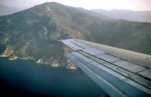 Landeanflug auf  Samos, 30.5.