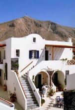 Unser Hotel in Perisssa, 11.6.1996