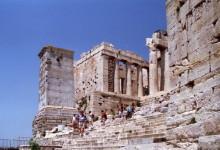 Eingang zur Akropolis in Athen, 14.6.