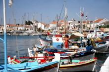 Der Hafen von Pythagorion, 30.5.