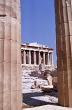 Blick zum Parthenon Tempel, 14.6.