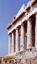 Säulen des Parthenon Tempels, 14.6.