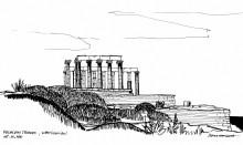 Der Poseidon Tempel in Sounion, 15.6.
