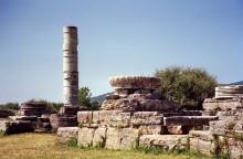 Der Hera Tempel im Heraion bei Pythagorion, 31.5.