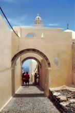 In Thira auf Santorini, 12.6.1996