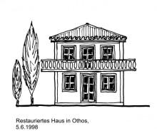 Typisches Haus in Othos, 5.6.1998