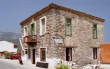 Typisches Restaurant am Hafen auf Samos, 17.6.