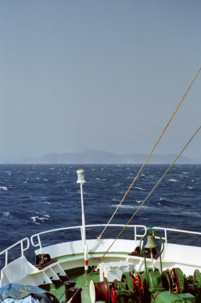 Fahrt nach Patmos, 1. Juni 1994
