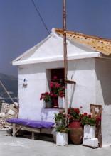 Mein kleines Hotel am Hafen auf Samos, 17.6.1991