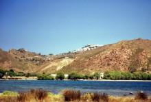Die Meloi Bucht auf Patmos, 2.6.1994
