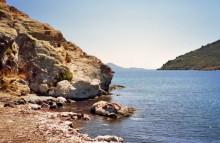In der Meloi Bucht auf Patmos, 2.6.