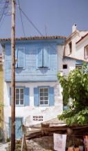 Typisches Haus in Kokkari auf Samos, 18.6.