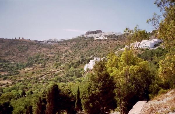 Blick zum Johannes Kloster, Juni 1994