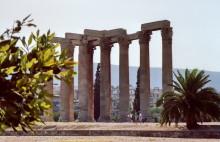 Zeus Tempel Säulen, 9.9.