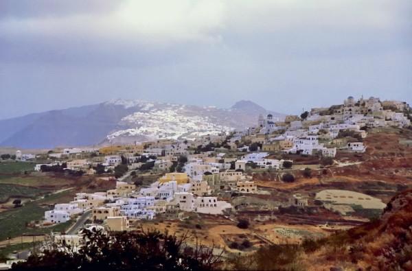 Pyrgos auf Santorini, 17.6.1996