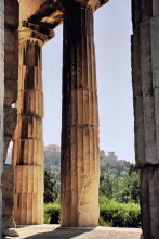 Säulen vom Theseus Tempel, 9.9.