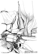 Agios Katefiani unterhalb vom Mesa Vouno, 17.6.