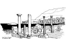 Agia Fotini vor Pigadia auf Karpathos, 10.9.1992