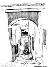 Die Altstadt Chora, 20.6.1991