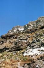 Die Caldera Wand bei Athinios, 18.6.