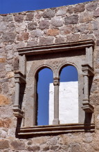 Alte Öffnungen, Chora auf Patmos, Juni 1991