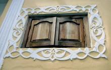 Fensterumrahmung in Menetes, 11.6.