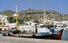 Im Hafen von Skala
