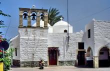 Kirche In Skala am Hafen, Juni 1994