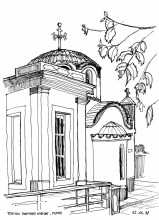 Timiou Stavrou Kirche in Piles, 12.6.
