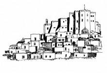 Blick auf das Johannes Kloster von Westen, 21.6.