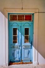 Verrammelte Tür in Volada, 16.9.