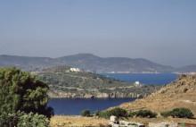 Die Grikos Bucht auf Patmos, Juni 1994