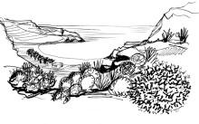Die Psiliamos Bucht