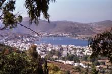 Blick auf Skala vom Kloster, Juni 1991