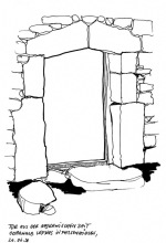 Mykenisches Tor in Lefkos, 20.6.1998