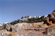 Fußweg zur Altstadt Chora, Juni 1991