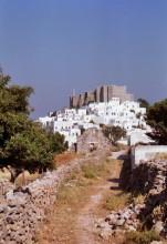 Fußweg zum Kloster, Juni 1991