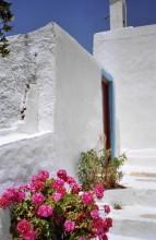Griechenlandfarben auf Lipsi, 13.6.1994