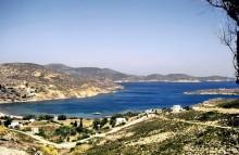 Die Meloi Bucht auf Patmos, Juni 1994