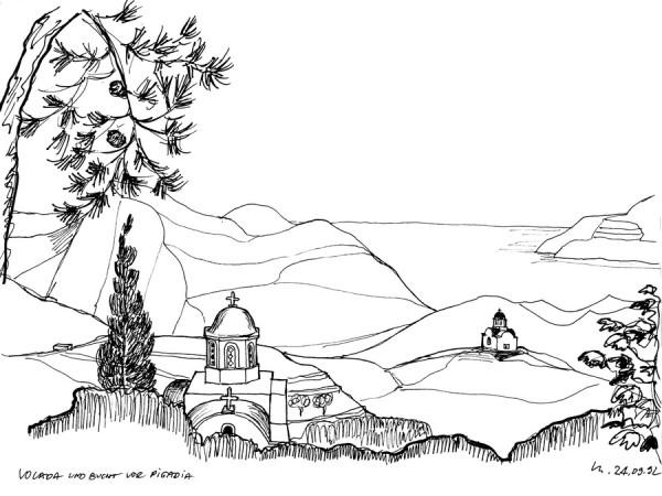 Vor Volada auf Karpathos, 24.9.