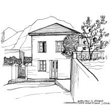 Altes Haus in Pigadia, 25.9.