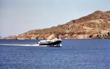Die neuen Schnellfähren zwischen Samos und Patmos, 17.6.1994