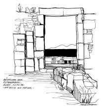 Das römische Bad in Pythagorion auf Samos, 3.7.