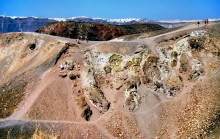Im Krater vom Neo Kameni, 23.6.